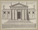 Temple of Juno Regina on the Aventine in Rome