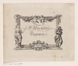 Business card of William Hogarth