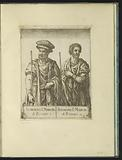 Double portrait of Almerico I, Marquis of Ferrara, and Tedaldo of Canossa, Lord of Ferrara