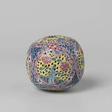 Pierced fragrance ball with silk tassel