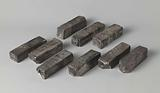 Silver bars from the wreck of the East Indiaman Slot ter Hooghe