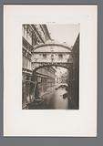 View of the Ponte dei Sospiri in Venice