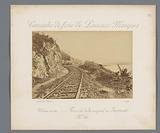 Train track in Mozambique, possibly along the bank of the Rio Incomati