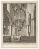 Organ of the St John's Church in Gouda