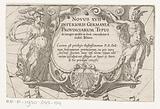 Minerva and Mercury flank cartouche