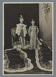 Double portrait of King George VI of the United Kingdom and Queen Elizabeth at their coronation
