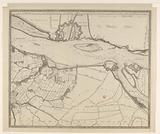 Map of the Merwede, from beyond Sleeuwijk to Slot Loevestein