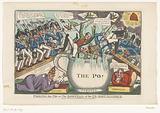 European monarchs fall into the Po, 1821