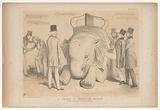 Cartoon about the appointment of Henry Hardinge as governor of India