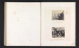 Photo reproductions from prints to frescoes depicting Moses kneeling before an appearance of clouds and showing the …