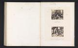 Photo reproductions from prints to frescoes depicting the construction of the Temple of Solomon and the Queen of Sheba …