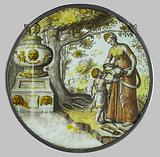 Hagar gives Ishmael a drink