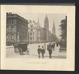 View of Fifth Avenue in New York