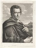 Portrait of the painter Johann Christian Reinhart
