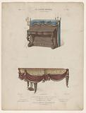 Piano and grand piano with draperies