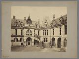 Courtyard of the Castle of Pierrefonds