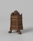 Inkpot with a Monk in a Pulpit