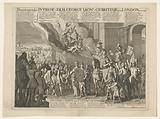 Entry of King George I into London, 1714