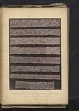 Eight strips of 18th century lace produced in Mechelen, from the collection of the Kunstgewerbemuseum in Dresden, …