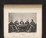 Group portrait of Josiah Quincy, Edward Everett, Jared Sparks, James Walker and Cornelius Conway Felton