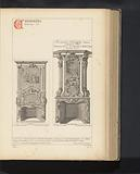 Reproduction of two chimney designs by Gerrit de Grendel