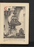 Pulpit in the Grote or Onze-Lieve-Vrouwekerk in Dordrecht