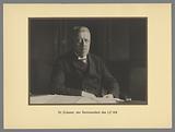 Portrait of Dr Hugo Eckener, the commander of the LZ 126