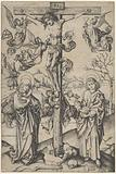 The Crucifixion with Four Angels