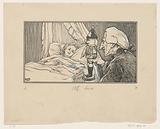 Uncle Drosselmeier at Marie's bedside