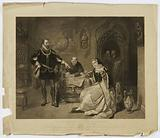 Signing of Death Warrant of Lady Jane Grey