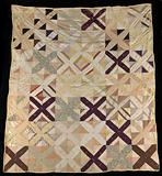 Untitled (String Quilt with X Pattern)
