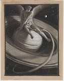 (Illustration for Rubáiyát of Omar Khayyám) The Throne of Saturn
