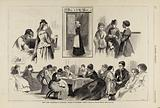 New York Charities – St Barnabas House, from Harper's Weekly, April 18, 1874