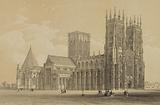North West View, York Cathedral