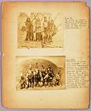 """Fig. XI """"A group of North American Indians in full dress"""", study folder for book Concealing Colouration in the Animal Kingdom"""