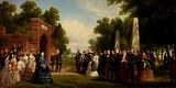 Visit of the Prince of Wales, President Buchanan, and Dignitaries to the Tomb of Washington at Mount Vernon, October 1860