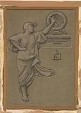(Illustration for Rubáiyát of Omar Khayyám) Dedication