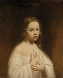 Portrait of Hiram Powers' Daughter