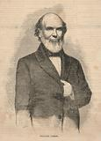 Theodore Parker, from Ballou's Pictorial Drawing-Room Companion, November 6, 1858