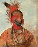 Wash-ka-mon-ya, Fast Dancer, a Warrior