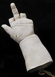 Cast of an Unidentified Baby's Left Hand and Forearm