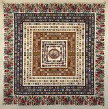 Pieced and Appliqued Bedcover (Center Medallion)