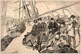 Homeward Bound, from Harper's Weekly, December 21, 1867