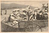 The Straw Ride, from Harper's Bazar, September 25, 1869