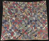 Untitled (String Quilt, Bow Tie Pattern)