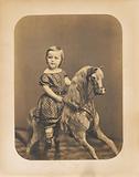 Girl on a Hobby Horse