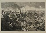 The War for the Union 1862 – A Cavalry Charge, from Harper's Weekly, July 5, 1862