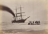 Arctic Regions: Hunting by Steam in Melville Bay, The Party after a Day's Sport Killing Six Polar Bears within the Twenty-Four Hours