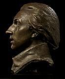 Head of Marquis de Lafayette (Lafayette Monument, Paris, France)