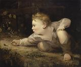 Boy Playing Marbles